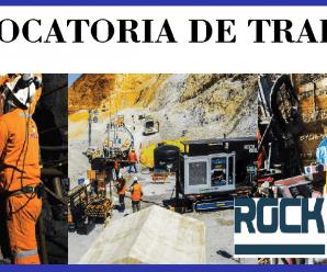 CONVOCATORIA DE TRABAJO PARA Rock Drill Cont. Civ. y Mineros S.A.C