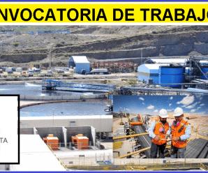 SE NECESITA PERSONAL DE TRABAJO PARA Antofagasta