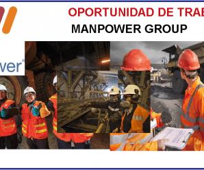 CONVOCATORIA DE TRABAJO PARA MANPOWER