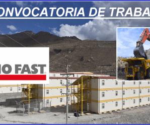 CONVOCATORIA DE TRABAJO PARA TECNO FAST-PROY.ANCILLARY