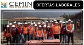 SE NECESITA PERSONAL PARA CEMIN Holding Minero
