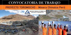 PROYECTO TOROMOCHO | OFERTA DE TRABAJO