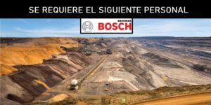 SE NECESITA PERSONAL PARA B.Bosch