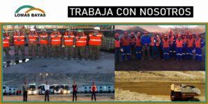 SE REQUIERE PERSONAL PARA Compañía Minera Lomas Bayas
