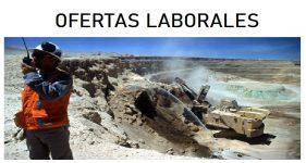 OFERTAS LABORALES  PARA RUBRO MINERO - abril 2020
