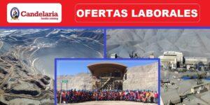 Trabajo en Minera Candelaria