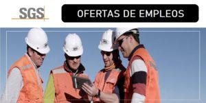 OFERTAS DE EMPLEOS SGS MINERALS CHILE