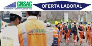 CN MINERIA Y CONSTRUCCION S.A.C.   Junio 2020