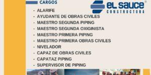 OBRAS CIVILES Y PIPING - Constructora El Sauce