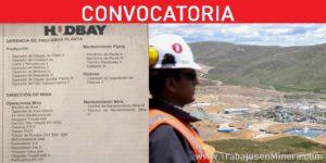 CONVOCATORIA DE PERSONAL PARA HUDBAY PERÚ