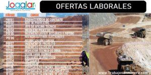OFERTAS LABORALES PARA Faena cercana a Antofagasta | JOGGLAR