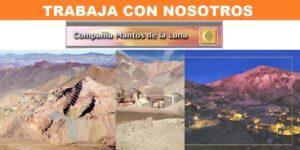 SE NECESITA PERSONAL PARA Faena Minera: Mantos de La Luna - Minera de Tocopilla S.A