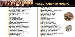 RECLUTAMIENTO MINERO CHILE (Mayo 2020)