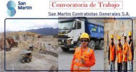 San Martin Contratistas Generales S.A (Mayo 2020)