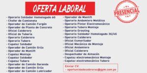 OFERTAS LABORALES EN CHAMBITA | Graña y Montero