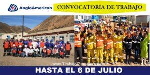 ANGLO AMERICAN   HASTA EL 6 DE JULIO