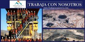 SE NECESITA PERSONAL PARA Antofagasta Minerals