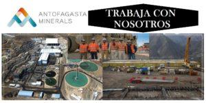 SE NECESITA PERSONAL PARA Grupo Antofagasta Minerals plc