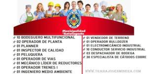 Ofertas Laborales recientes en OMIL Municipalidad Antofagasta | Junio 2020