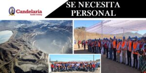 SE NECESITA PERSONAL PARA Minera Candelaria | JULIO 2020