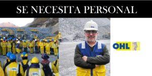 OFERTAS LABORALES PARA OHL S.A OBRASCÓN HUARTE LAÍN S.A. AGENCIA EN CHILE | JULIO 2020