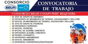 CONSORCIO BELFI-COSAPI  | AGOSTO 2020
