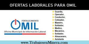 OFERTAS LABORALES PARA OMIL Municipalidad de Antofagasta