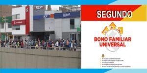 Factores a tener en cuenta para el cobro de los S/760 del Segundo Bono Familiar Universal