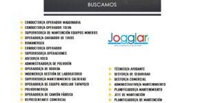 LISTADO DE OFERTAS LABORALES DISPONIBLES EN JOGGLAR