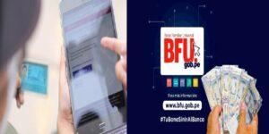 BFU deposito en cuenta
