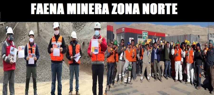 FAENA MINERA ZONA NORTE