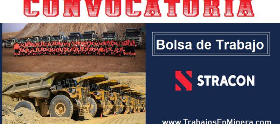 STRACON BOLSA DE TRABAJO