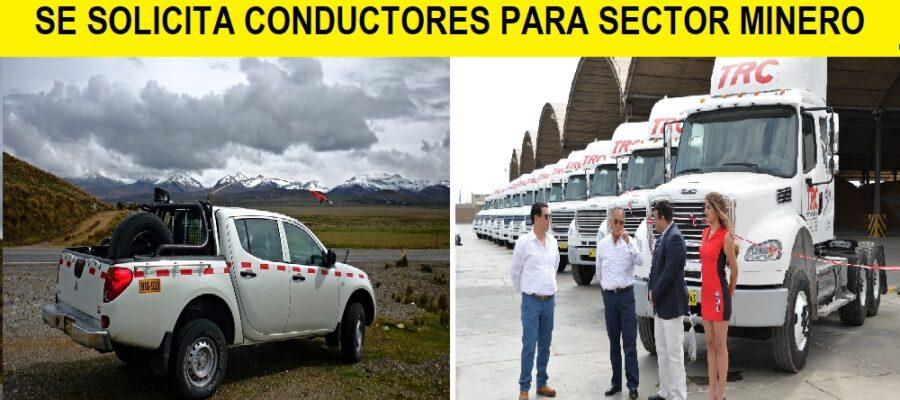 CONDUCTORES PARA SECTOR MINERO