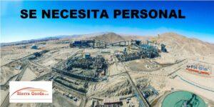 Chile minera sierra gorda