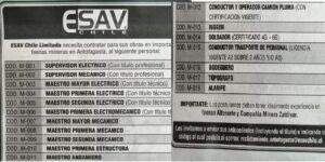 ESAV CHILE