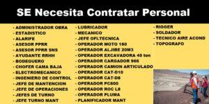 PEGAS MINERAS CHILE