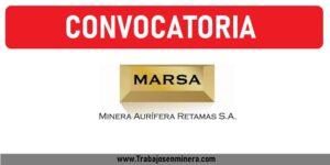 MINERA RETAMAS MARSA