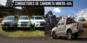 camioneta minera