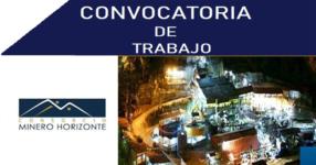Consorcio Minero Horizonte S.A. / Abril 2021