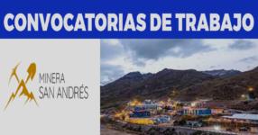 COMPAÑIA MINERA SAN ANDRES / Abril 2021