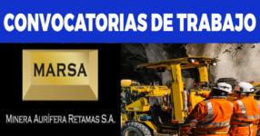 MINERA AURIFERA RETAMAS S.A./ Abril 2021