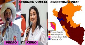 Segunda Vuelta, Elecciones 2021: Cuándo es la segunda vuelta entre Pedro Castillo y Keiko Fujimori