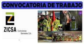 Zicsa Contratistas Generales S.A. / Abril 2021
