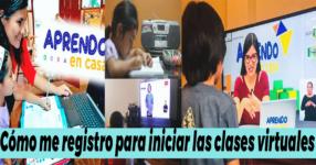 Aprendo en casa 2021: ¿Cómo me registro para iniciar las clases virtuales?