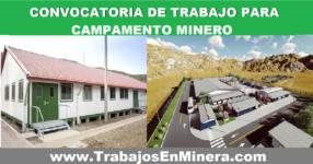 CAMPAMENTO MINERO   OCTUBRE 2021