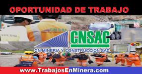 CN MINERIA Y CONSTRUCCION S.A.C.   OCTUBRE 2021